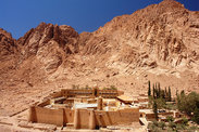 Egypt-st-catherines-panorama-of-monastery